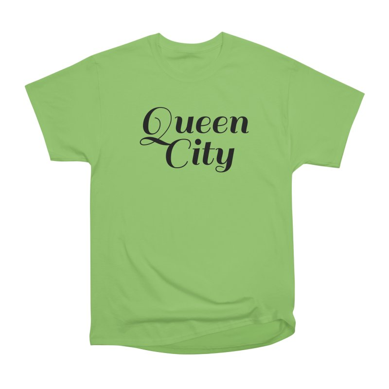 Queen City (Poughkeepsie, NY) Women's Heavyweight Unisex T-Shirt by The Lorin