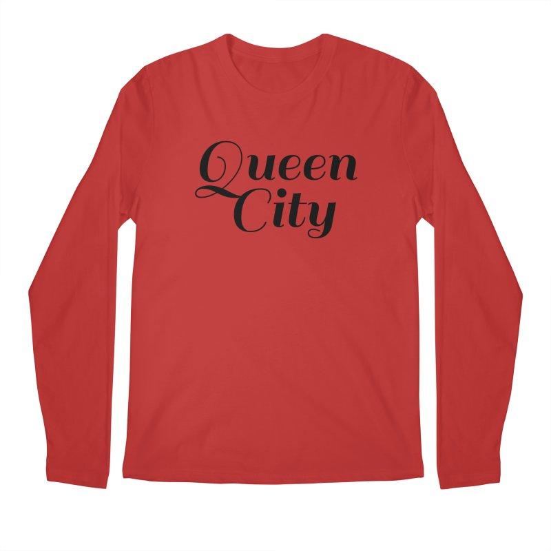 Queen City (Poughkeepsie, NY) Men's Regular Longsleeve T-Shirt by The Lorin