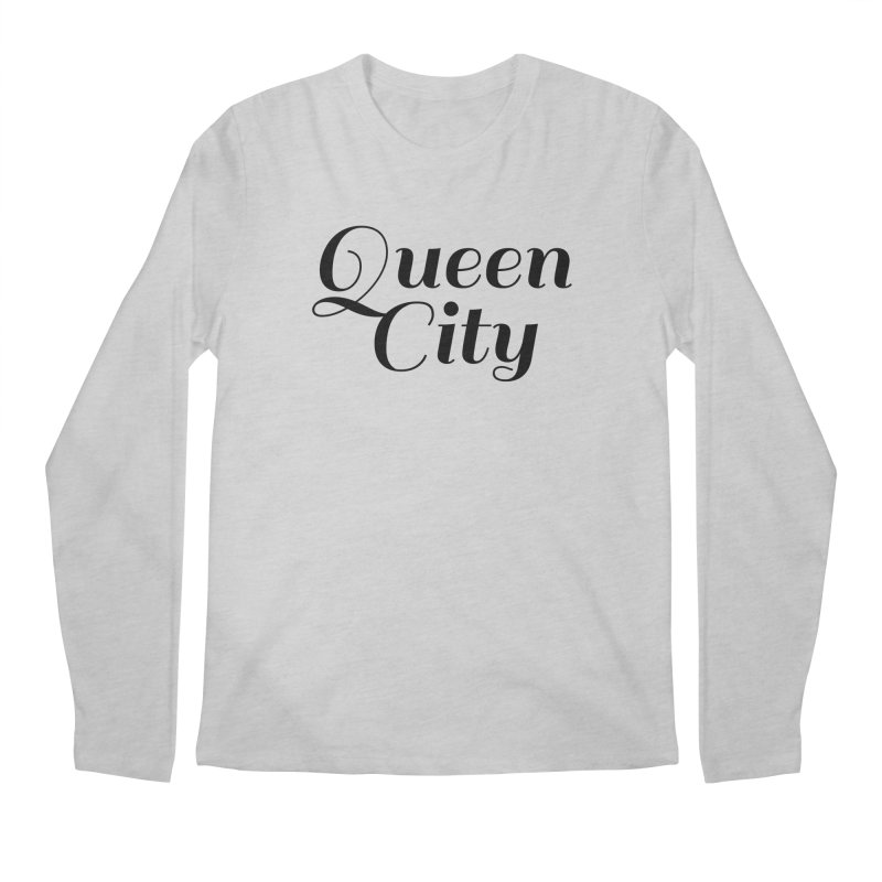 Queen City (Poughkeepsie, NY) Men's Longsleeve T-Shirt by The Lorin
