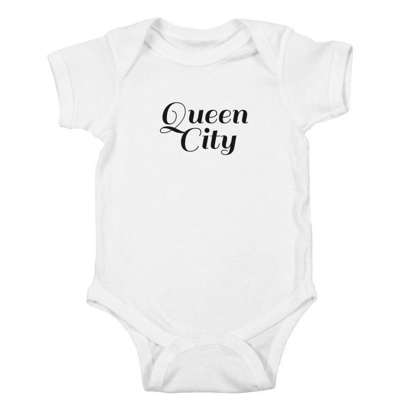 Queen City (Poughkeepsie, NY) Kids Baby Bodysuit by The Lorin
