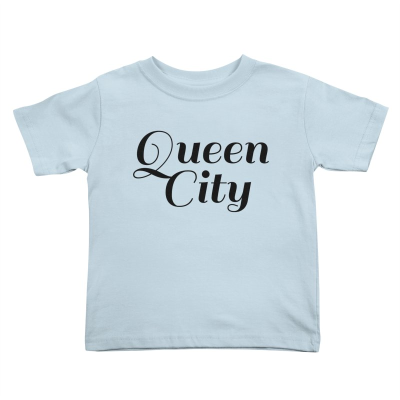Queen City (Poughkeepsie, NY) Kids Toddler T-Shirt by The Lorin