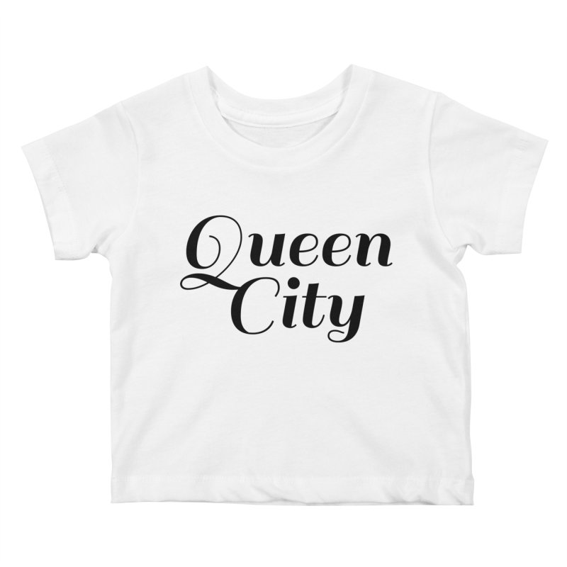 Queen City (Poughkeepsie, NY) Kids Baby T-Shirt by The Lorin