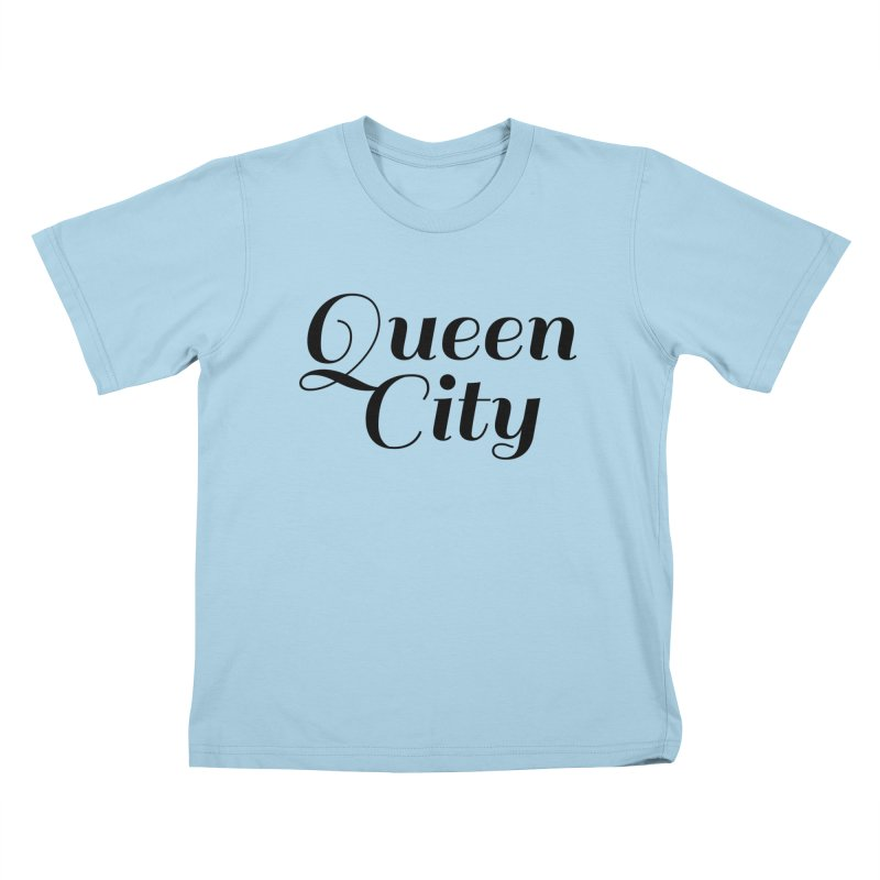 Queen City (Poughkeepsie, NY) Kids T-Shirt by The Lorin