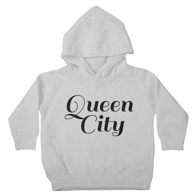 Queen City (Poughkeepsie, NY) Kids Toddler Pullover Hoody by The Lorin