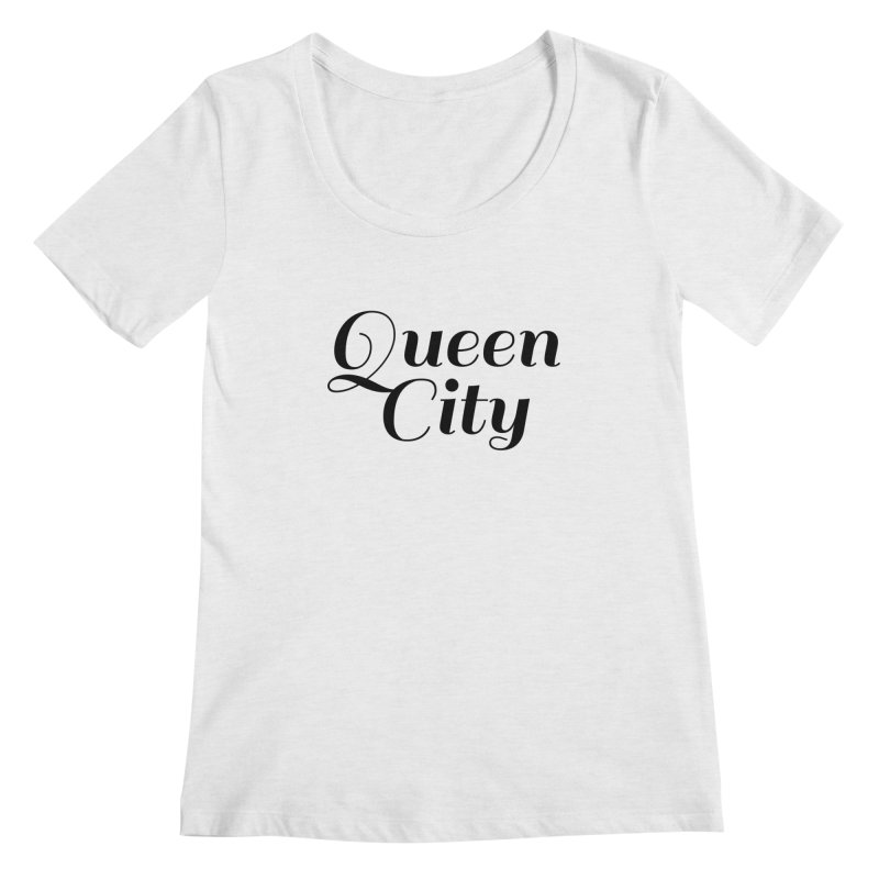 Queen City (Poughkeepsie, NY) Women's Regular Scoop Neck by The Lorin