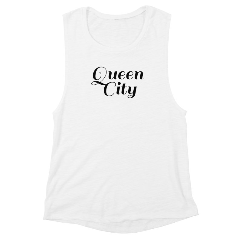 Queen City (Poughkeepsie, NY) Women's Muscle Tank by The Lorin