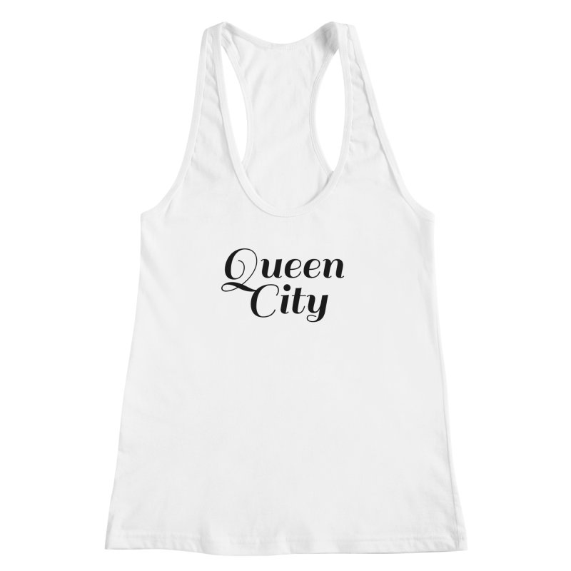 Queen City (Poughkeepsie, NY) Women's Racerback Tank by The Lorin
