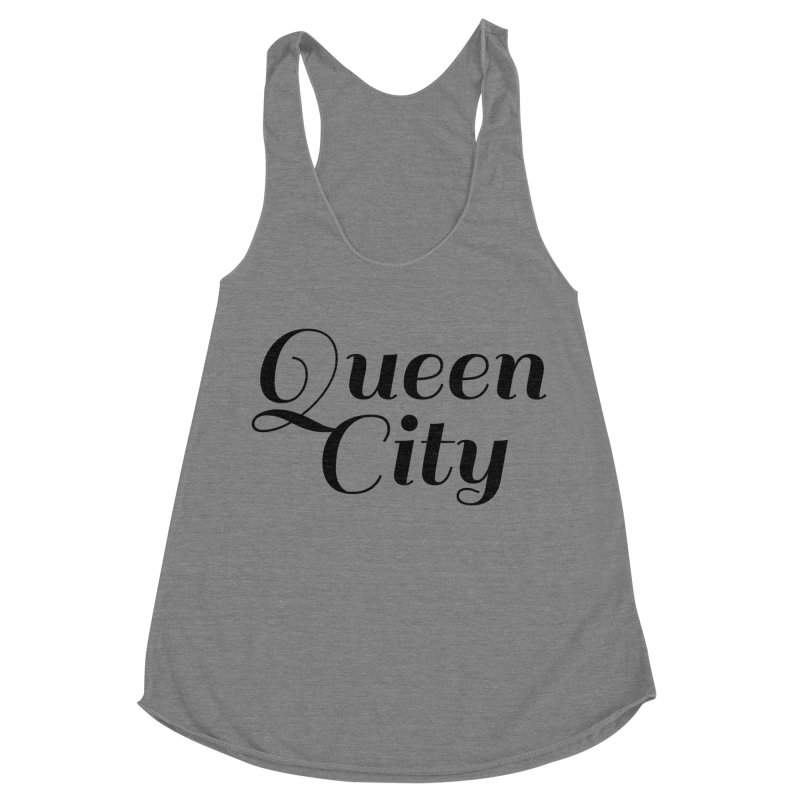 Queen City (Poughkeepsie, NY) Women's Racerback Triblend Tank by The Lorin