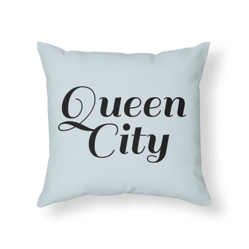 Queen City (Poughkeepsie, NY) Home Throw Pillow by The Lorin