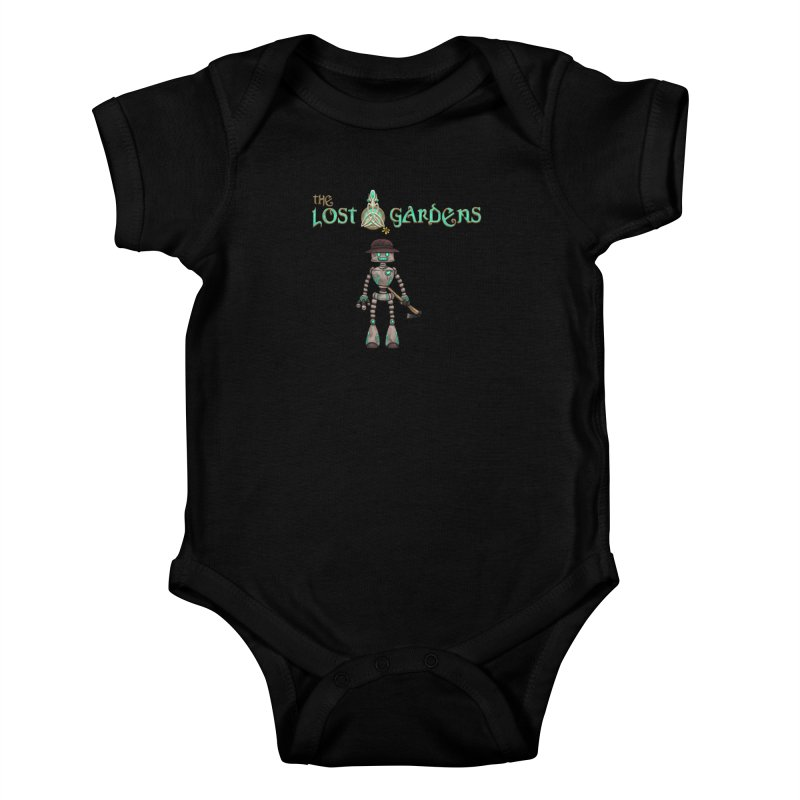 The Caretaker Kids Baby Bodysuit by The Lost Gardens Official Merch