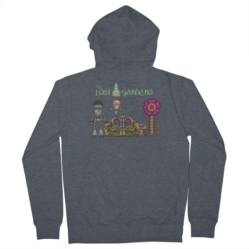All Characters Women's Zip-Up Hoody by The Lost Gardens Official Merch