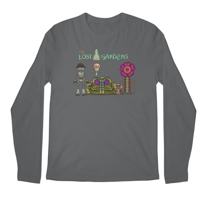 All Characters Men's Longsleeve T-Shirt by The Lost Gardens Official Merch