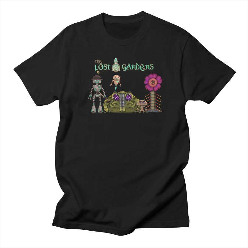 All Characters Men's T-Shirt by The Lost Gardens Official Merch