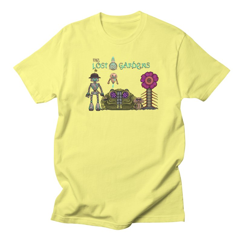All Characters Women's Unisex T-Shirt by The Lost Gardens Official Merch