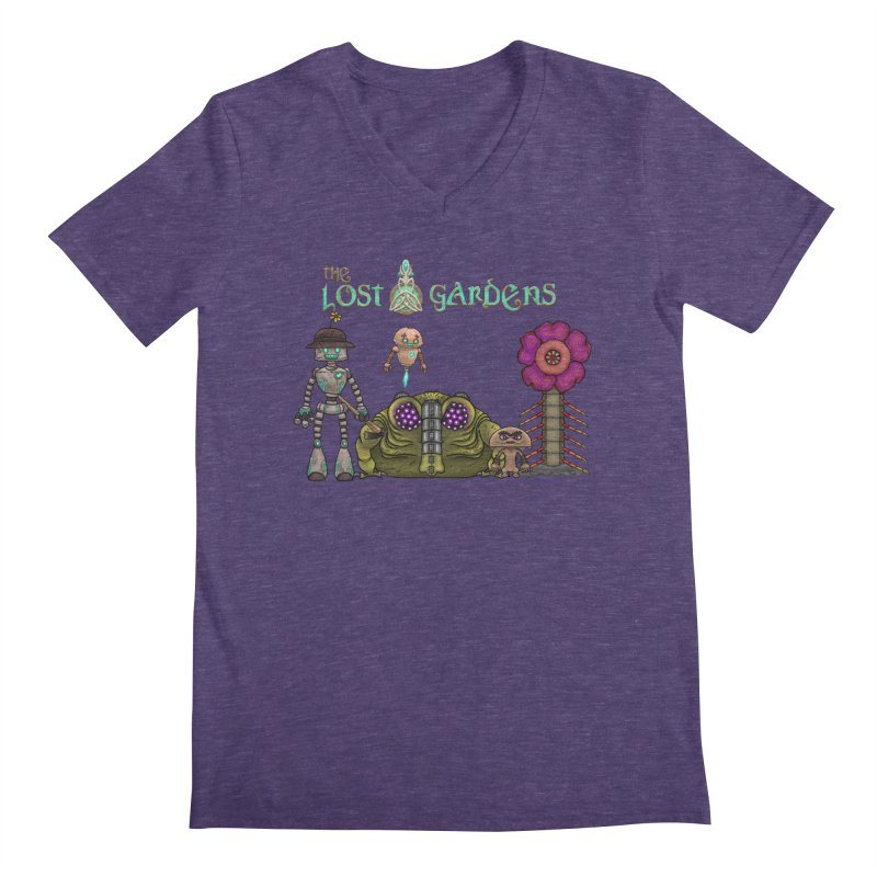 All Characters Men's V-Neck by The Lost Gardens Official Merch