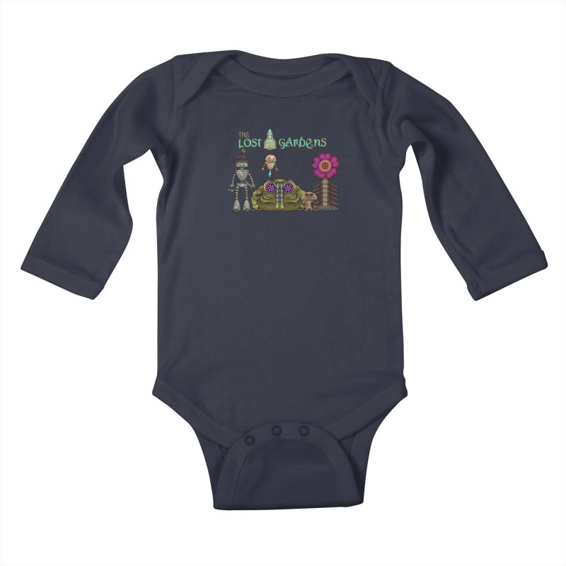 All Characters Kids Baby Longsleeve Bodysuit by The Lost Gardens Official Merch