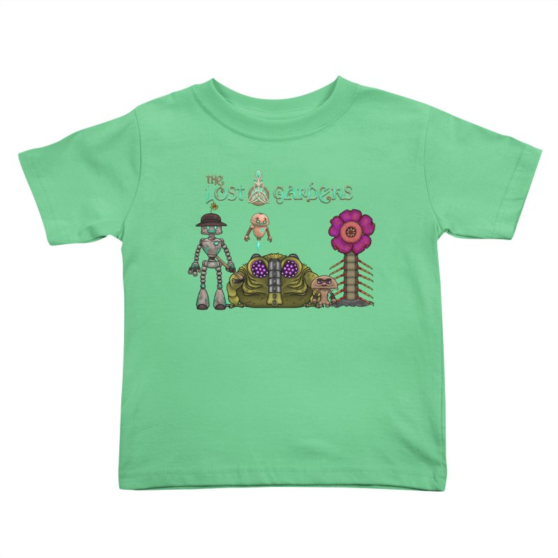 All Characters Kids Toddler T-Shirt by The Lost Gardens Official Merch