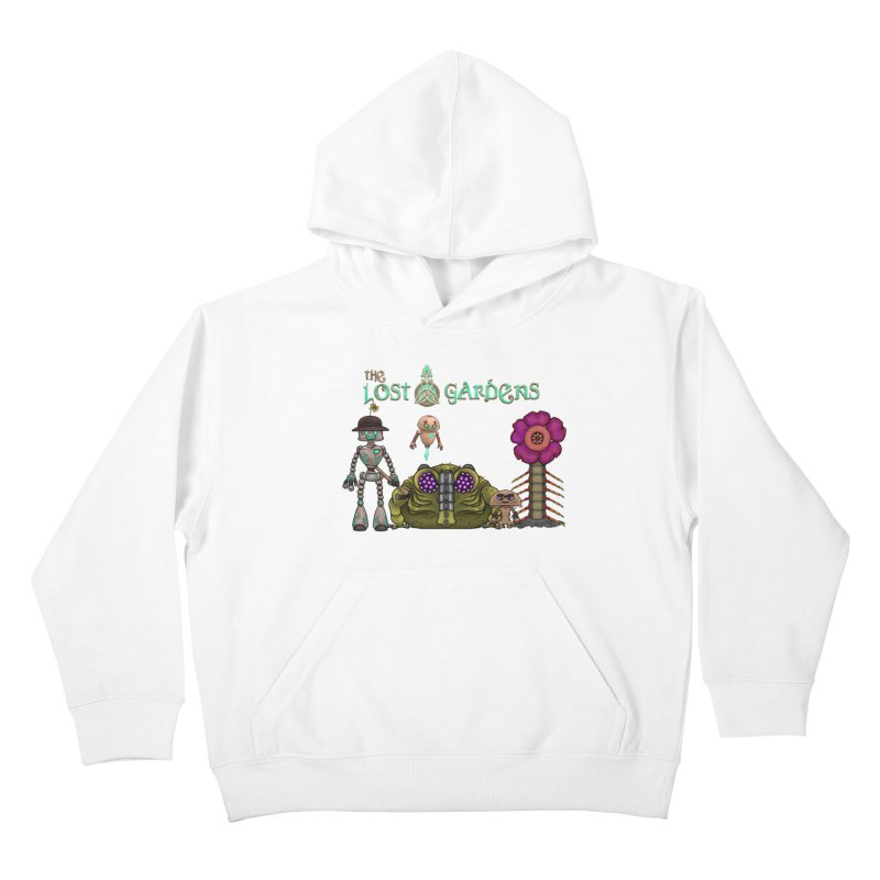 All Characters Kids Pullover Hoody by The Lost Gardens Official Merch