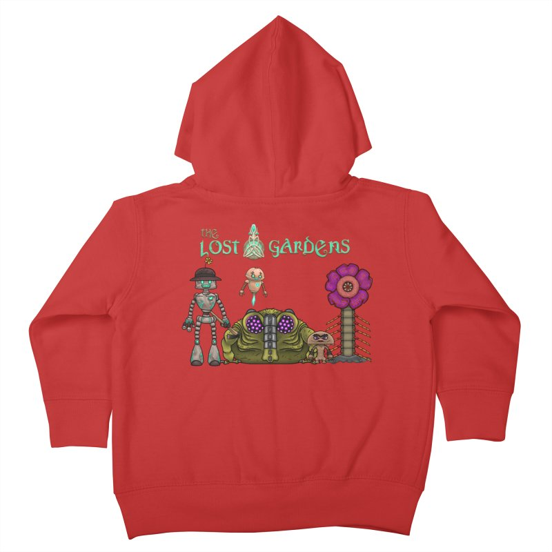 All Characters Kids Toddler Zip-Up Hoody by The Lost Gardens Official Merch
