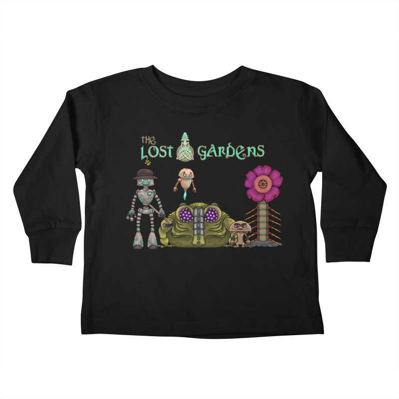 All Characters Kids Toddler Longsleeve T-Shirt by The Lost Gardens Official Merch