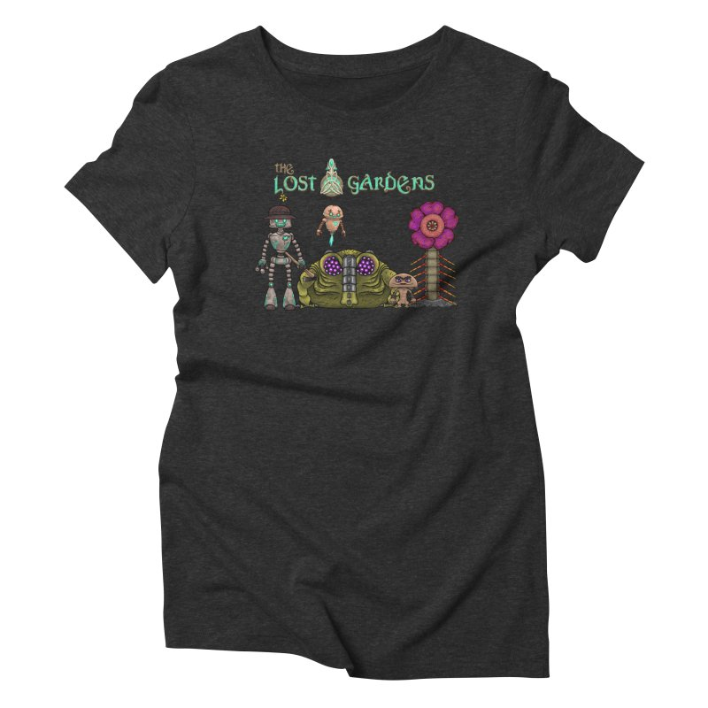 All Characters Women's Triblend T-Shirt by The Lost Gardens Official Merch
