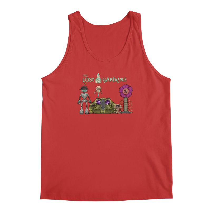 All Characters Men's Tank by The Lost Gardens Official Merch