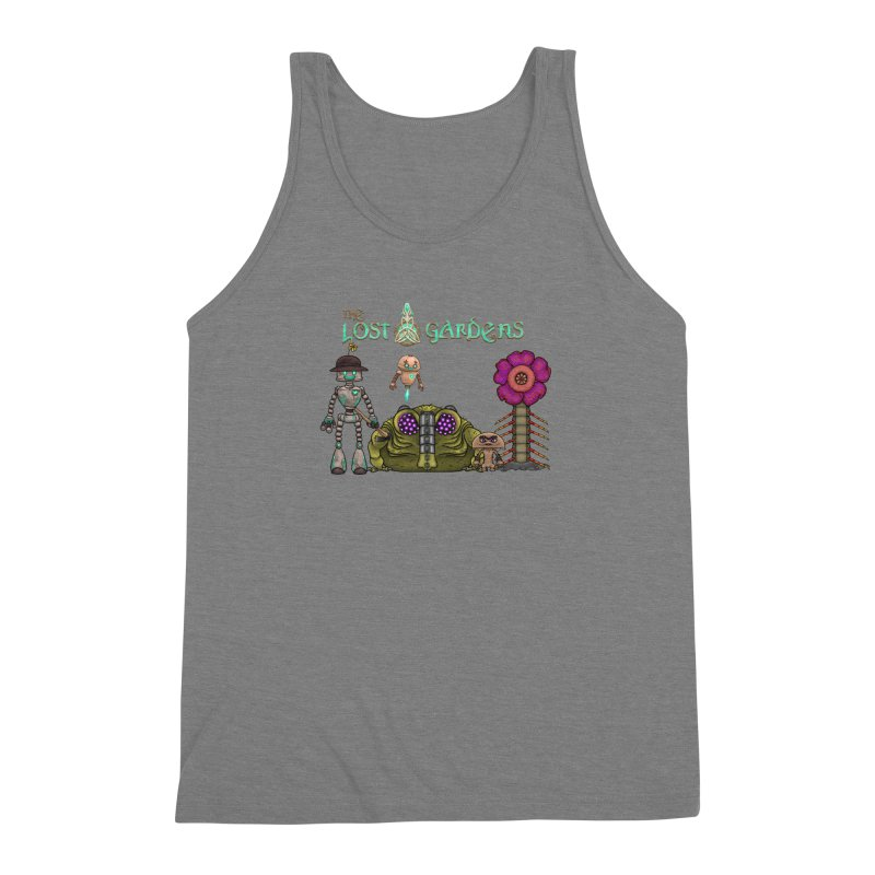 All Characters Men's Triblend Tank by The Lost Gardens Official Merch