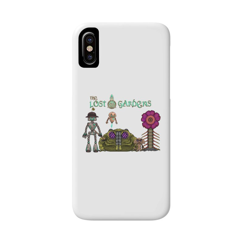 All Characters Accessories Phone Case by The Lost Gardens Official Merch
