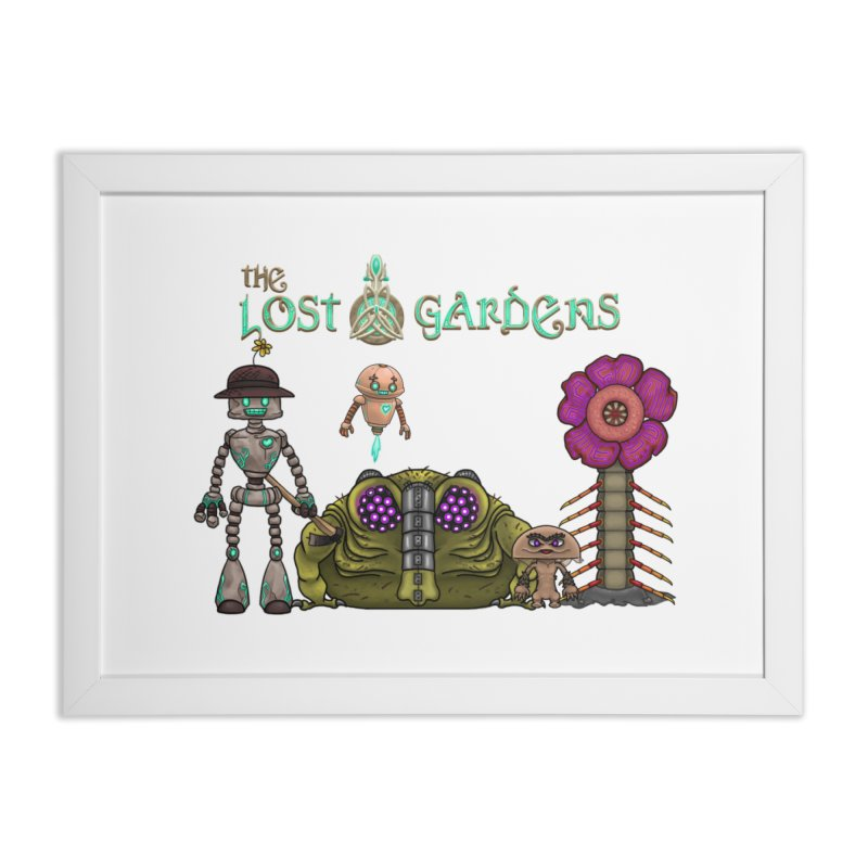 All Characters Home Framed Fine Art Print by The Lost Gardens Official Merch