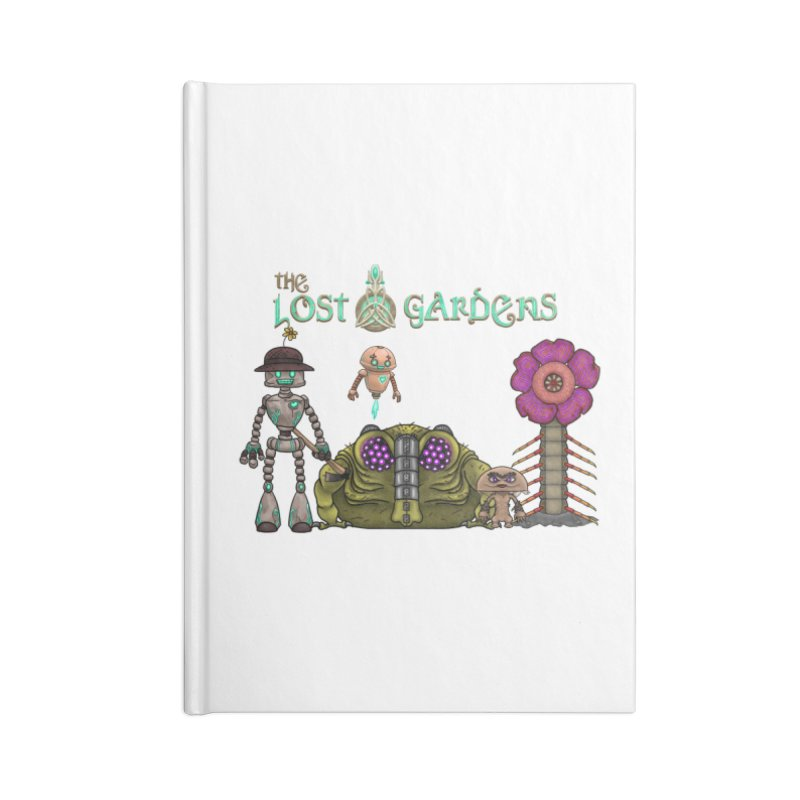 All Characters Accessories Notebook by The Lost Gardens Official Merch