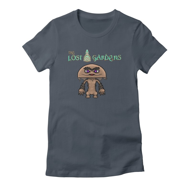 Mion Women's Fitted T-Shirt by The Lost Gardens Official Merch