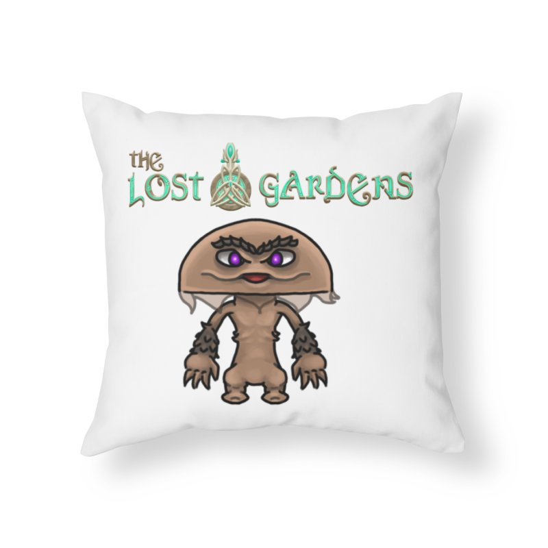 Mion Home Throw Pillow by The Lost Gardens Official Merch