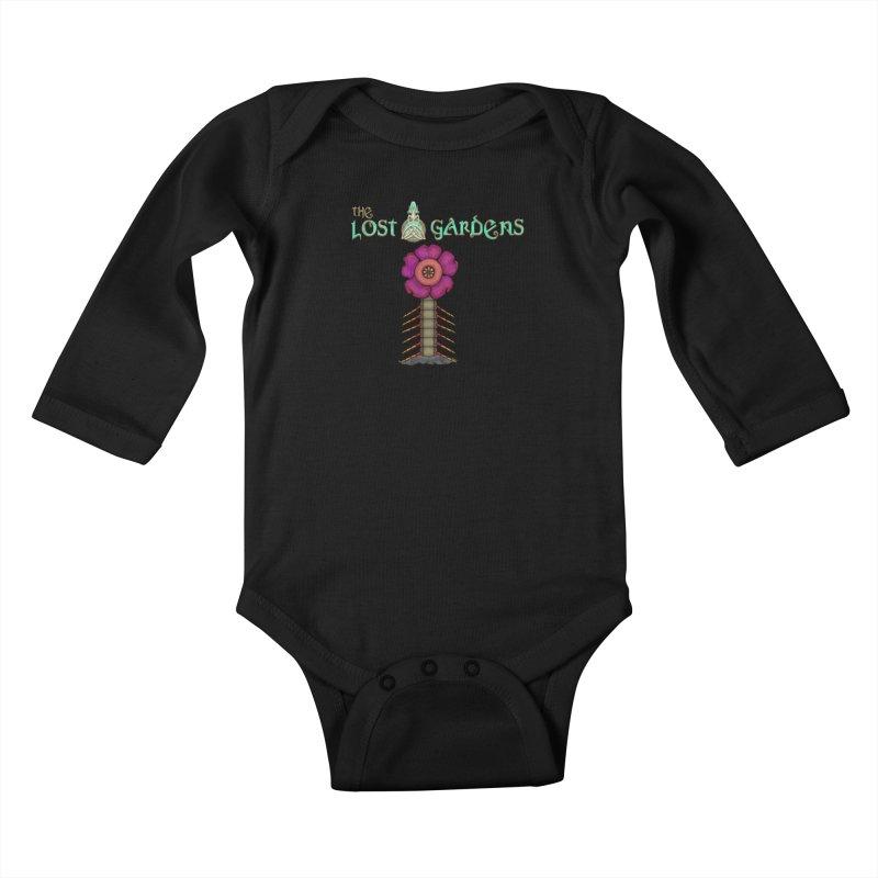 Raffelsipede Kids Baby Longsleeve Bodysuit by The Lost Gardens Official Merch