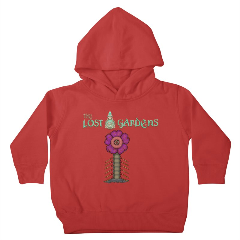 Raffelsipede Kids Toddler Pullover Hoody by The Lost Gardens Official Merch