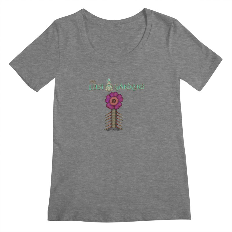 Raffelsipede Women's Scoopneck by The Lost Gardens Official Merch