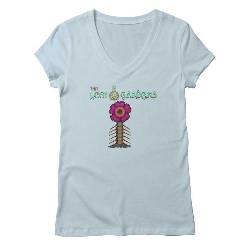 Raffelsipede Women's V-Neck by The Lost Gardens Official Merch