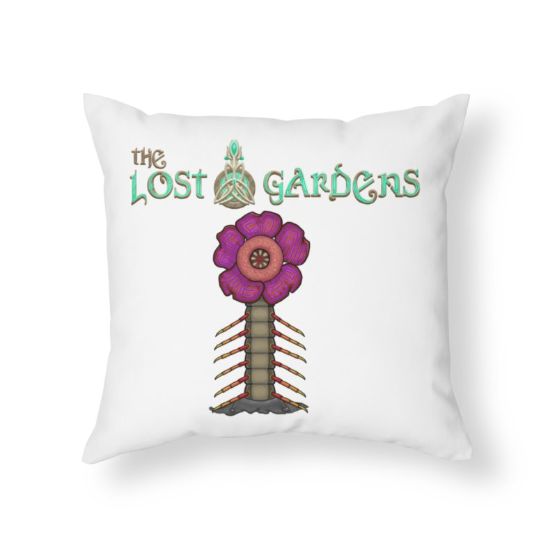 Raffelsipede Home Throw Pillow by The Lost Gardens Official Merch