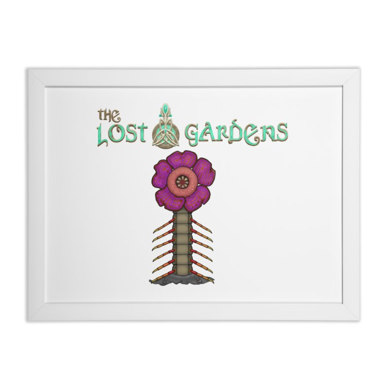 Raffelsipede Home Framed Fine Art Print by The Lost Gardens Official Merch