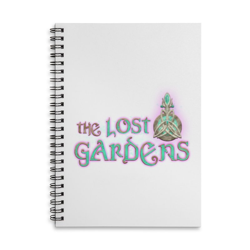 The Lost Gardens Accessories Lined Spiral Notebook by The Lost Gardens Official Merch