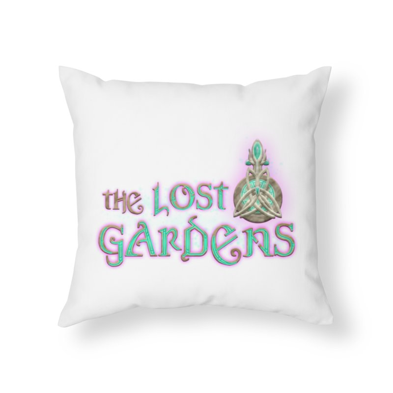 The Lost Gardens Home Throw Pillow by The Lost Gardens Official Merch