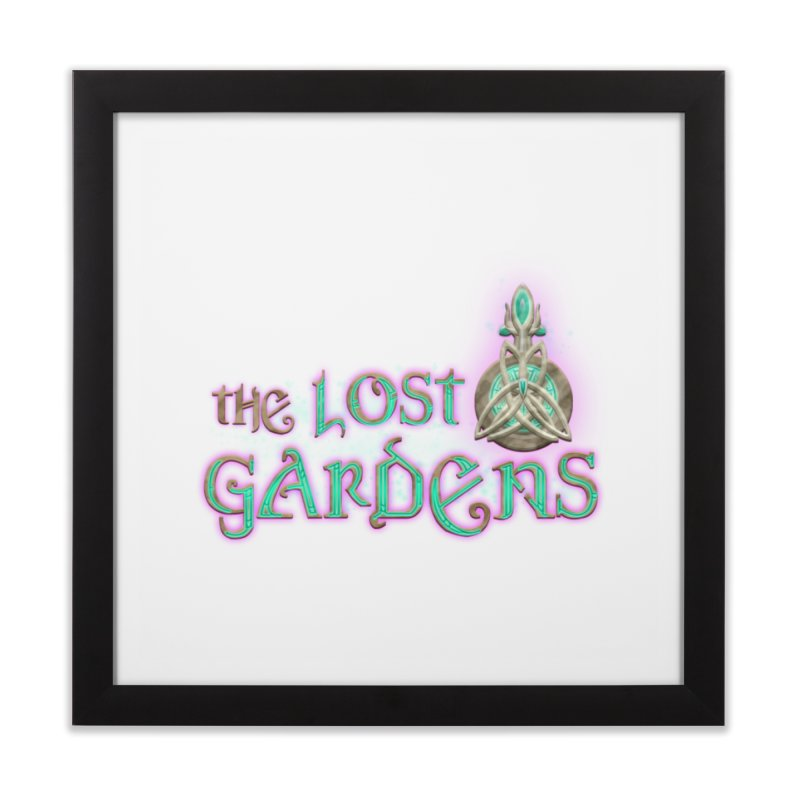 The Lost Gardens Home Framed Fine Art Print by The Lost Gardens Official Merch