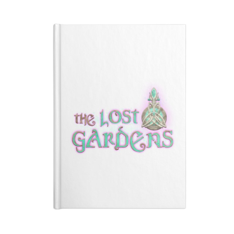 The Lost Gardens Accessories Blank Journal Notebook by The Lost Gardens Official Merch