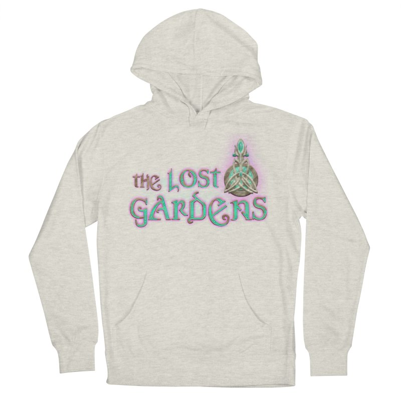 The Lost Gardens Men's French Terry Pullover Hoody by The Lost Gardens Official Merch