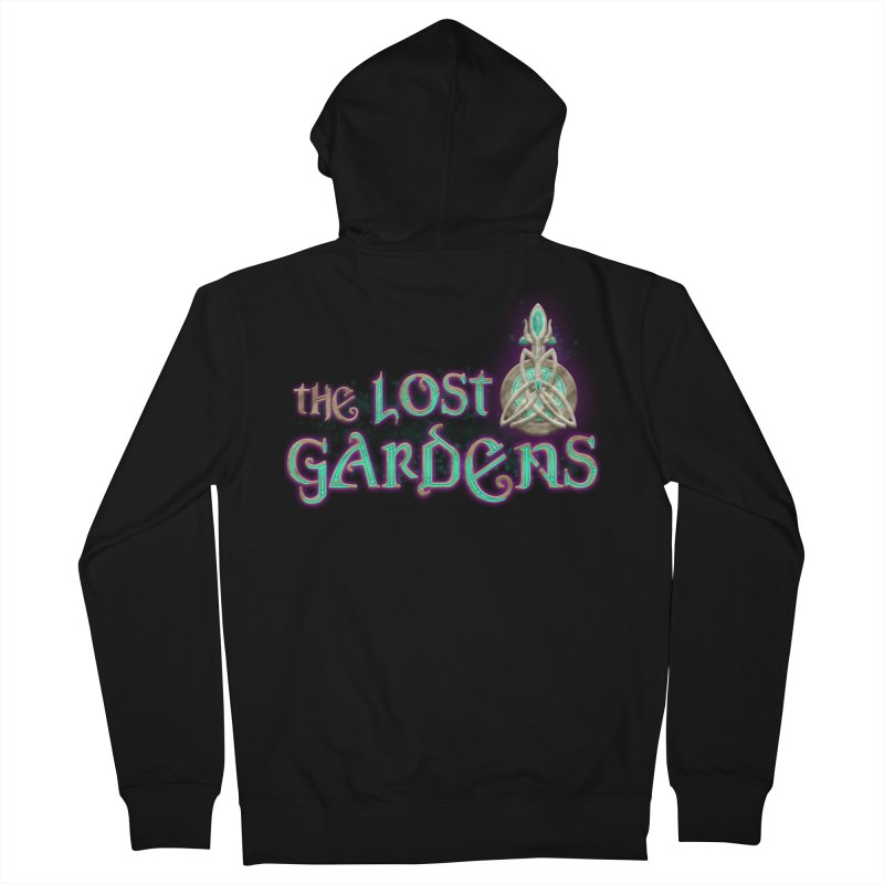 The Lost Gardens Men's Zip-Up Hoody by The Lost Gardens Official Merch