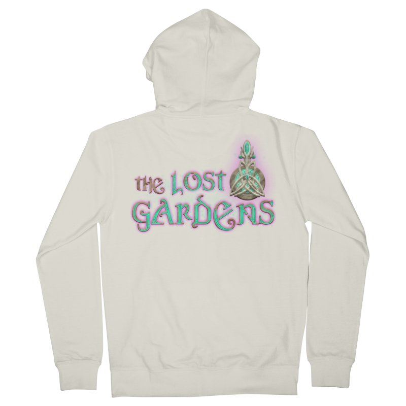 The Lost Gardens Men's French Terry Zip-Up Hoody by The Lost Gardens Official Merch