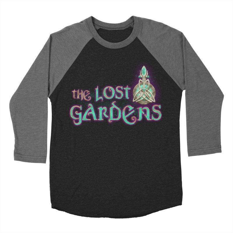 The Lost Gardens Men's Baseball Triblend Longsleeve T-Shirt by The Lost Gardens Official Merch