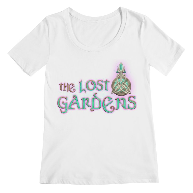 The Lost Gardens Women's Regular Scoop Neck by The Lost Gardens Official Merch