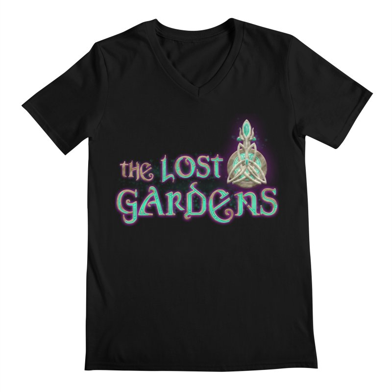 The Lost Gardens Men's Regular V-Neck by The Lost Gardens Official Merch