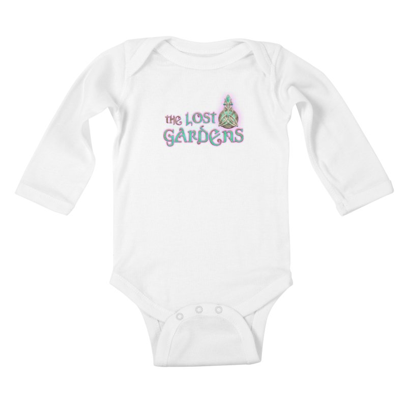 The Lost Gardens Kids Baby Longsleeve Bodysuit by The Lost Gardens Official Merch