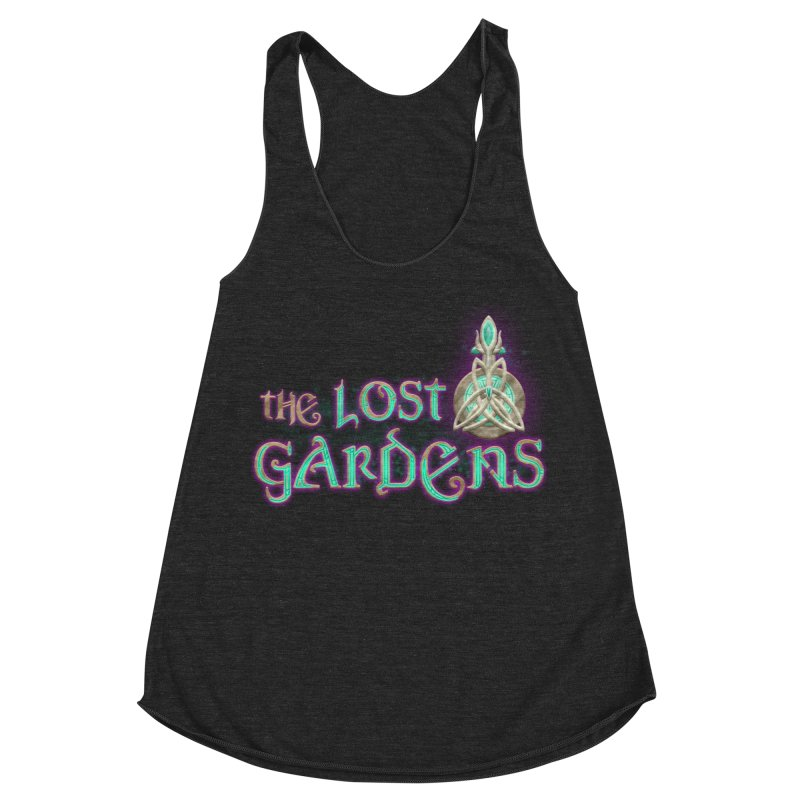 The Lost Gardens Women's Racerback Triblend Tank by The Lost Gardens Official Merch
